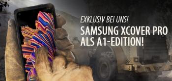 Samsung XCover Pro - exklusiv bei uns erhältlich!