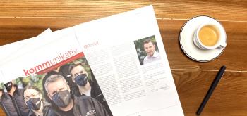 kommunikativ - die neueste Ausgabe!